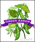 Organic Green Arrow Pea.
