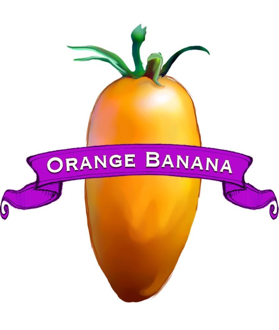 Organic Orange Banana Tomato Seed