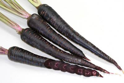 Deep Purple Carrots
